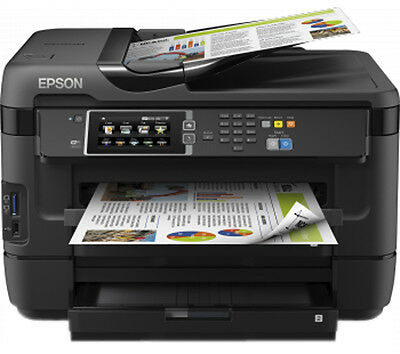 Epson WF-7620 DTWF All-in-One Wireless A3 Colour Inkjet Printer Fax scanner