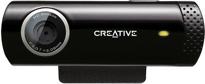CREATIVE Live Cam Chat HD Webcam Webkamera Chat Computer PC Notebook