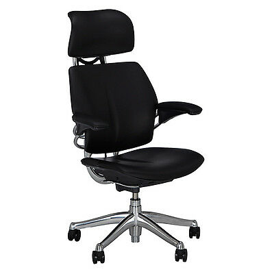 Humanscale Freedom Office Chair with Headrest Black NEW & SEALED