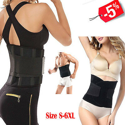 Sport Waist Trainer Body Shaper Cincher Corset Tummy Girdle Slimming Belly Belt