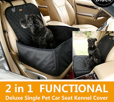 1pc 2-in-one  Pet dog auto car front seat basket/mat For Vehicle  Protector