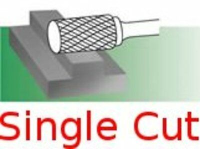 SA-1-S Single Cut Cylindrical Carbide Bur Standard burr rotary file