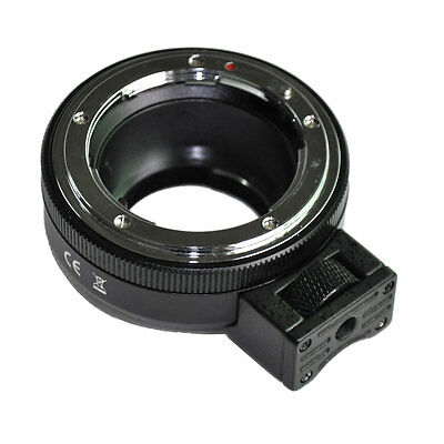 NF-MFT Aperture Mount Adapter for Nikon A/F/G/D Lens to Olympus Panasonic M4/3