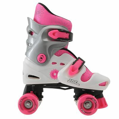No Fear Kids Quad Skates Girls Skate Shoes Rollers Wheeled