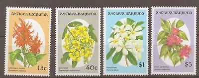 Antigua Sg1733/40 1993 Flowers  Part Set Mnh