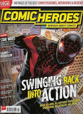 Comic Heroes Magazine #25 Relaunch Issue Oct 2016