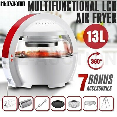 13L LCD Space Module Designed Low Fat Oil Free Healthy Air Fryer Oven Cooker