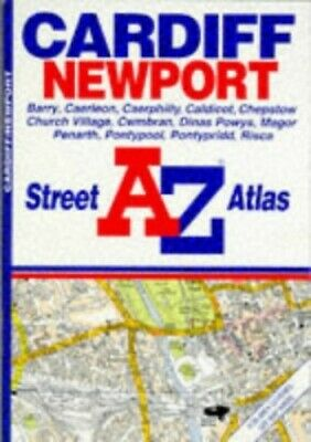A. to Z. Street Atlas of Cardiff and Newpor... by Geographers' A-Z Map Paperback