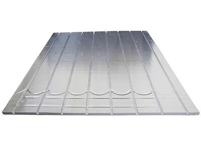 Underfloor Heating Foil Insulation EPS Board panel 150 Centres 1200x1200x25mm