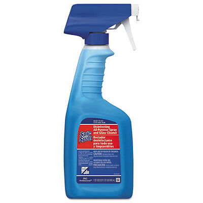 Disinfecting All-Purpose Spray and Glass Cleaner, Fresh Scent, 32oz Spray Bottle