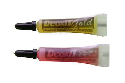 Caig Labs DeoxIT metal audio connector cleaning and conditioning liquid