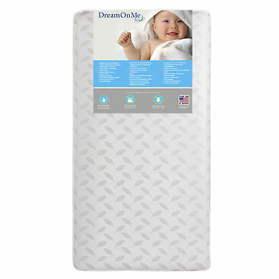 Dream On Me 132 Premium Coil Inner Spring Standard Crib & Toddler Mattress