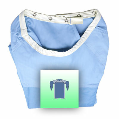 Rotecno fabric w/ snaps Surgical gown - 1 ply, X-Large size