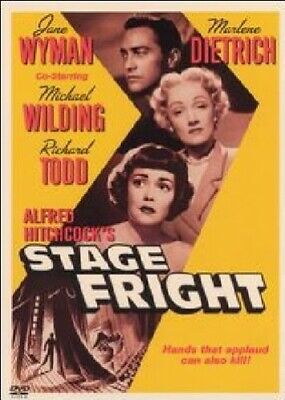 Stage Fright [1950] [DVD] - DVD  LEVG The Cheap Fast Free Post