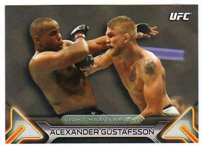 2016 Topps UFC Knockout Base Card #13 Alexander Gustafsson