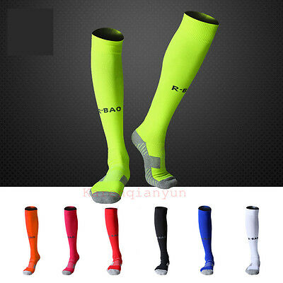 Men's Socks Soccer Baseball Football Basketball Sport Over Knee High Sock 1 Pair