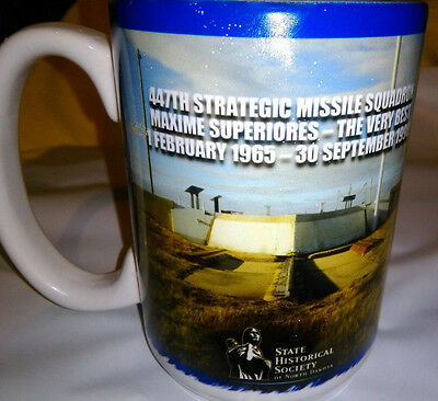 NEW Mug ~ 447th S. M. S. ~ Maxima Superiores ~GREAT All-Over Graphics XL & Heavy