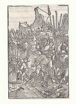 Altes Testament Luther Bibel Georg Lemberger Cranach Holzschnitt Wittenberg 1524