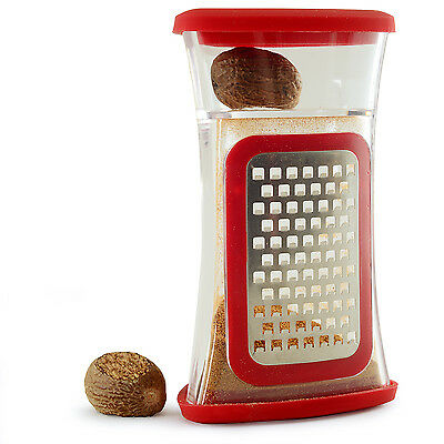 NORPRO 385 Stainless Steel Deluxe Nutmeg Ginger Garlic Citrus Chocolate Grater