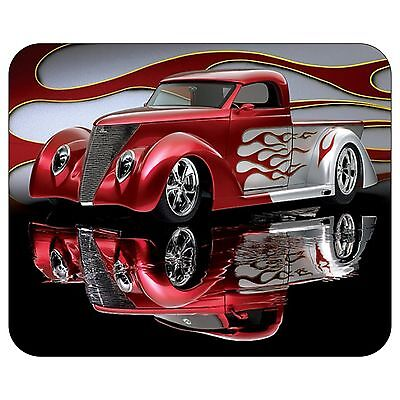 Red Truck Mousepad Mouse Pad Mat