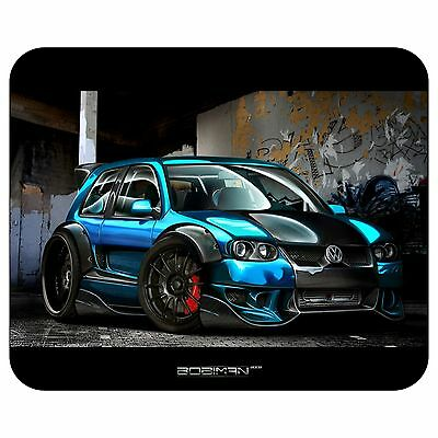 Blue Car Mousepad Mouse Pad Mat