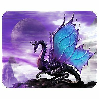 Purple Dragon Purple Moon Mousepad Mouse Pad Mat