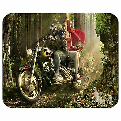 Redcap And The Evil Wolf Mousepad Mouse Pad Mat