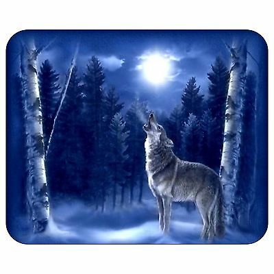 Lone Wolf Mousepad Mouse Pad Mat