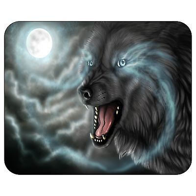 Wolf Moon Mousepad Mouse Pad Mat