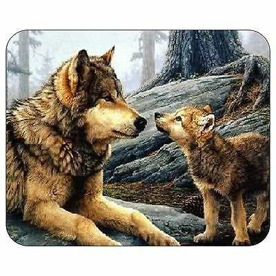 Mother And Pup Mousepad Mouse Pad Mat