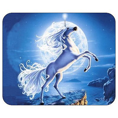 Unicorn And The Moon Mousepad Mouse Pad Mat