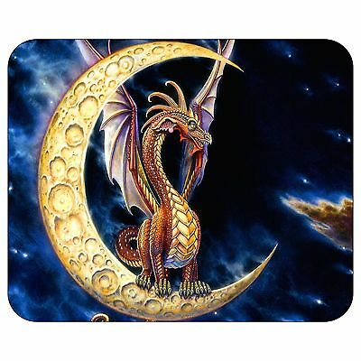 Moon Dragon Mousepad Mouse Pad Mat