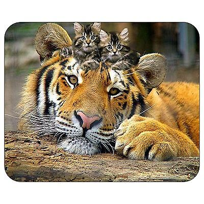 Kitten And Tiger Mousepad Mouse Pad Mat