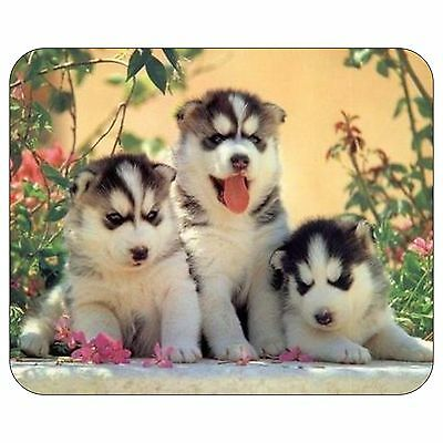 Cute Husky Puppy Mousepad Mouse Pad Mat