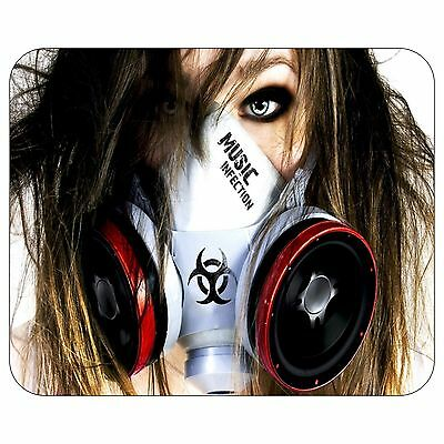 Music Infection Mousepad Mouse Pad Mat