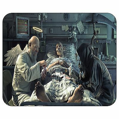 Angel And Grim Reaper Playing Cards Mousepad Mouse Pad Mat