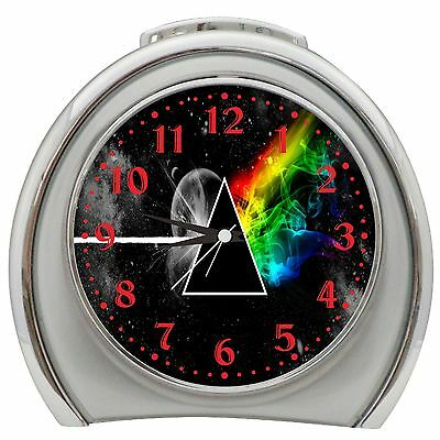 Stylized The Dark Side Of The Moon Alarm Clock Night Light Travel Table Desk