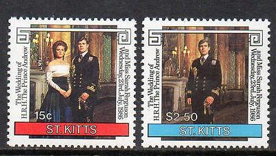 St Kitts MNH 1986 Royal Wedding