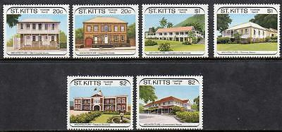 St Kitts MNH 1989 Tourism - Colonial Architecture