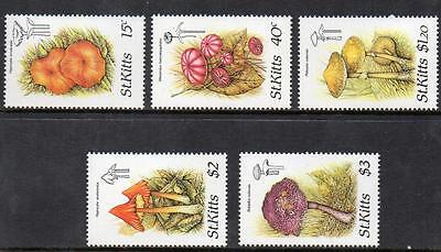 St Kitts MNH 1987 Fungi