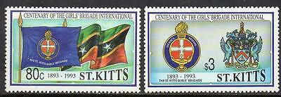 St Kitts MNH 1993 The 100th Anniversary of Girls Brigade