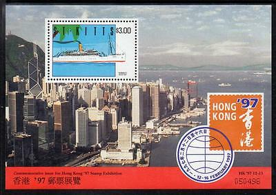 St Kitts MNH 1997 Hong Kong Stamp Exhibition M/S