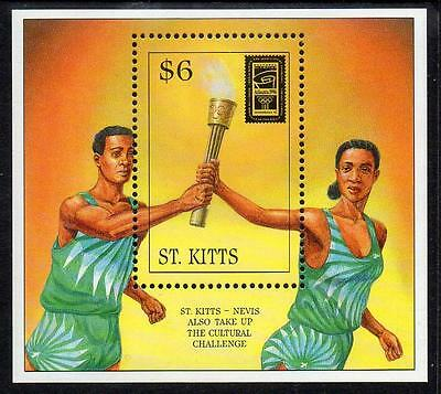 St Kitts MNH 1996 The 100th Anniversary of Olympic Games M/S
