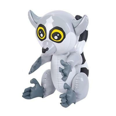 """24"""" Giant Inflatable Blow Up Lemur Animal Toy - Kids Jungle Animal Party Gift"""