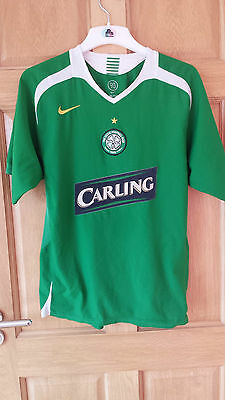Celtic Fc Official Nike 2005-06 Away Shirt Size Adult Large