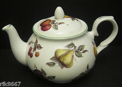 Scatter Fruit 6 Cup English Fine Bone China Tea Pot By Milton China