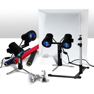"Lusana Studio 24"" Table Top Photography Photo Studio Light Tent Kit in a Box"