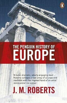 The Penguin History of Europe by J. M. Roberts Paperback Book The Cheap Fast
