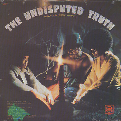 Undisputed Truth - The Undisputed truth (Vinyl LP - 1971 - US - Reissue)