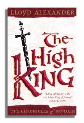 The High King (Chronicles of Prydain) (The Chro... by Alexander, Lloyd Paperback